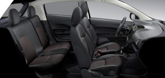Interieur mitsubishi mirage 2019